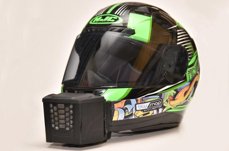 Bluarmor Blusnap Helmet Cooler Bike Gear Review Autocar