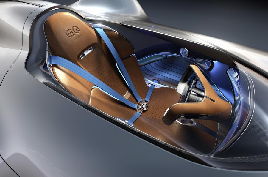 750hp Mercedes Eq Silver Arrow Concept Revealed Autocar India