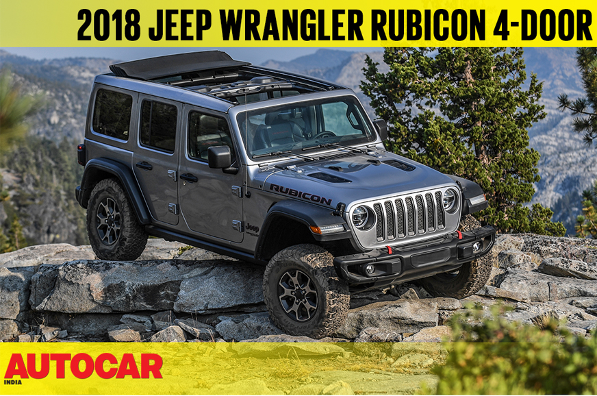 2018 Jeep Wrangler Rubicon Video Review Autocar India