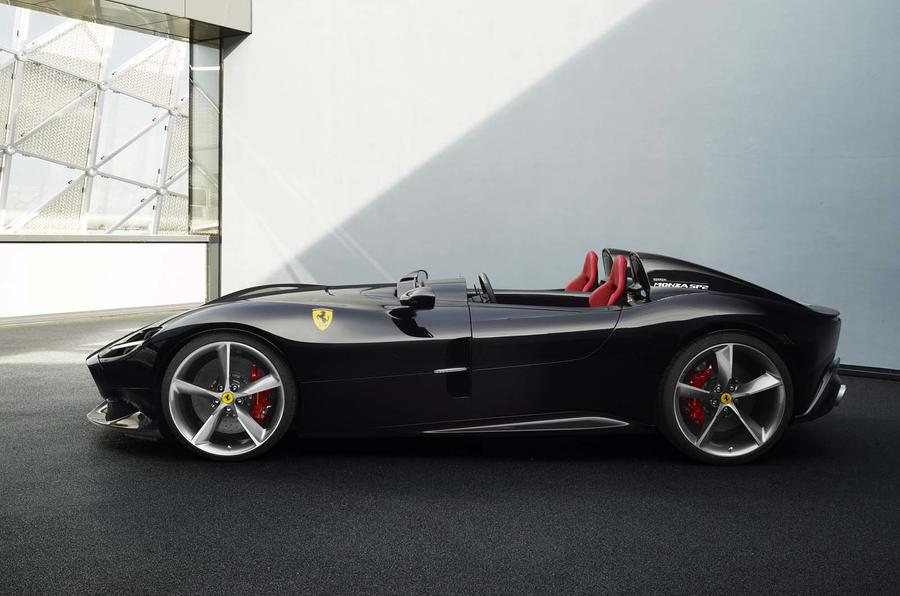 Ferrari Monza Sp1 Sp2 Unveiled In Maranello Autocar India