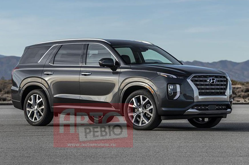 2020 Hyundai Palisade SUV leaked ahead of official unveil ...
