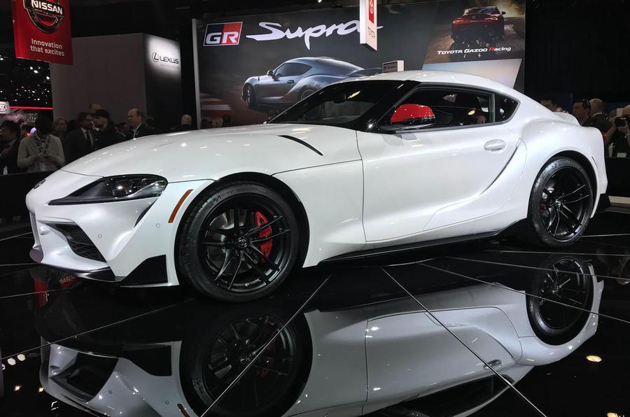 2019 Toyota Supra unveiled at Detroit motor show - Autocar ...