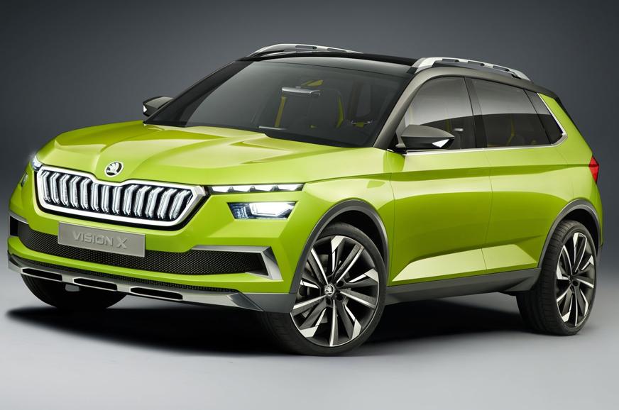 New Skoda SUV concept confirmed for Auto Expo 2020 debut ...