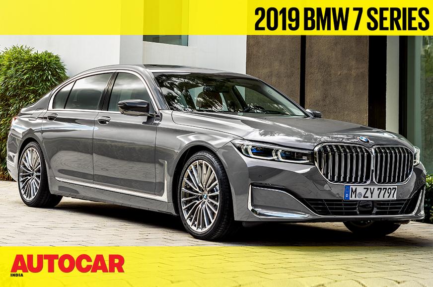 2019 BMW 750Li xDrive 7 Series facelift petrol engine ...
