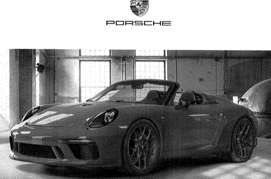 Production-spec Porsche 911 Speedster to be revealed at 2019 New York motor show