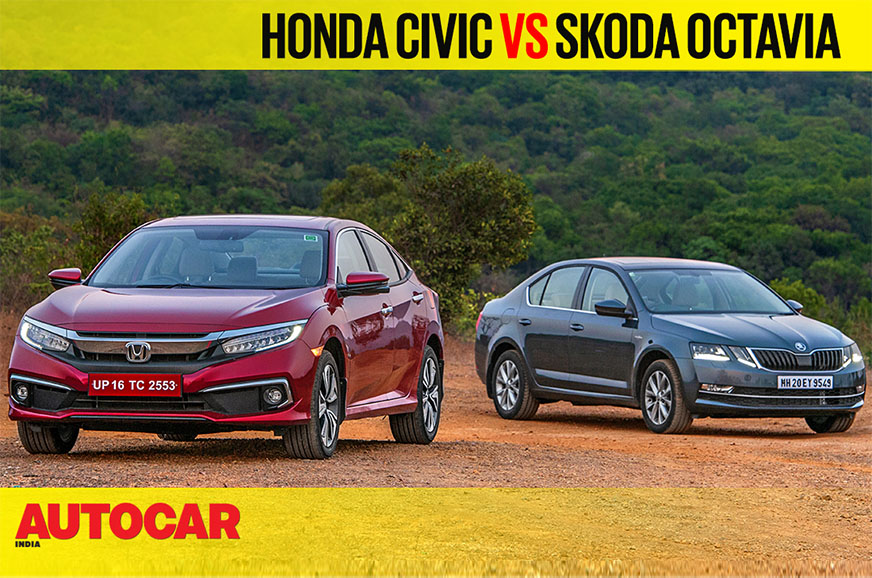 Review: Honda Civic vs Skoda Octavia comparison video