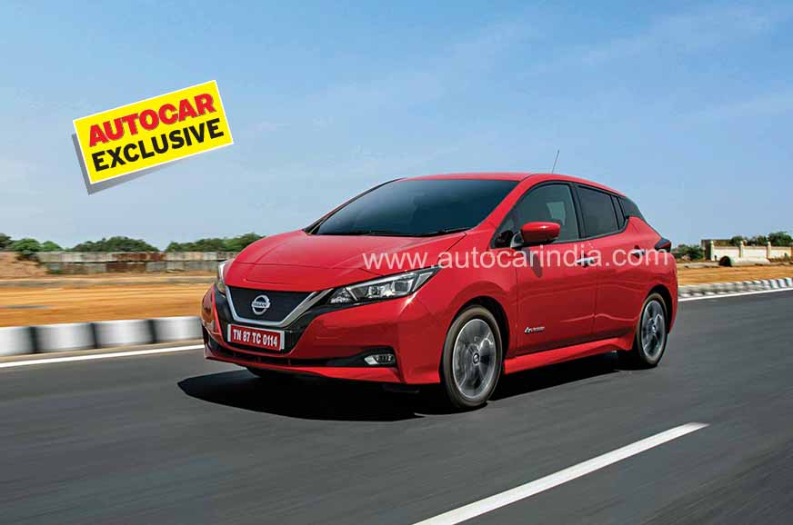 2019 Nissan Leaf review, test drive