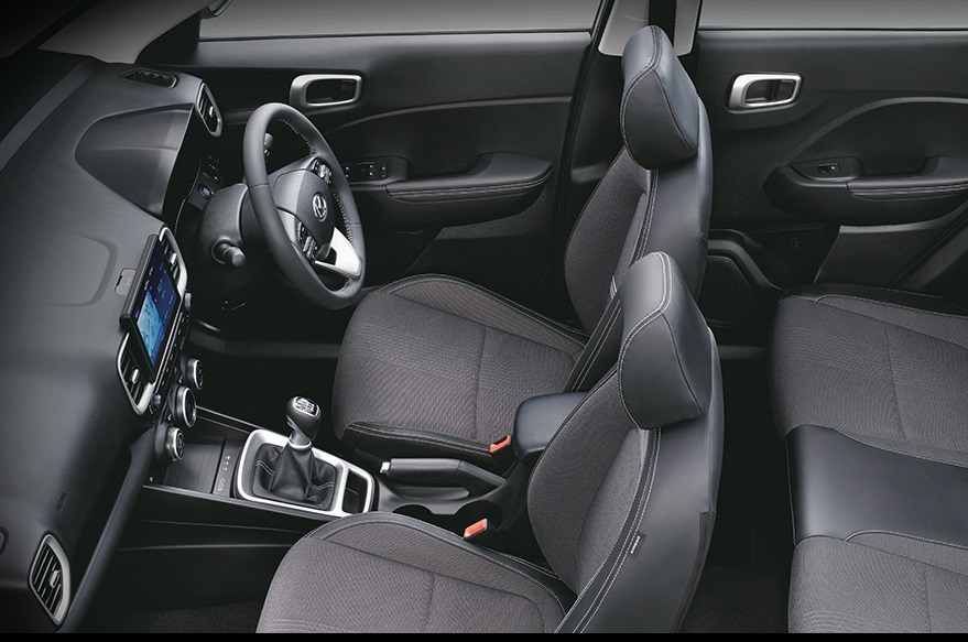 Hyundai Venue interior highlights detailed