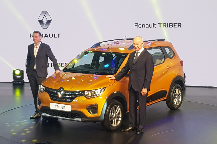 renault triber  global debut   delhi triber specifications features