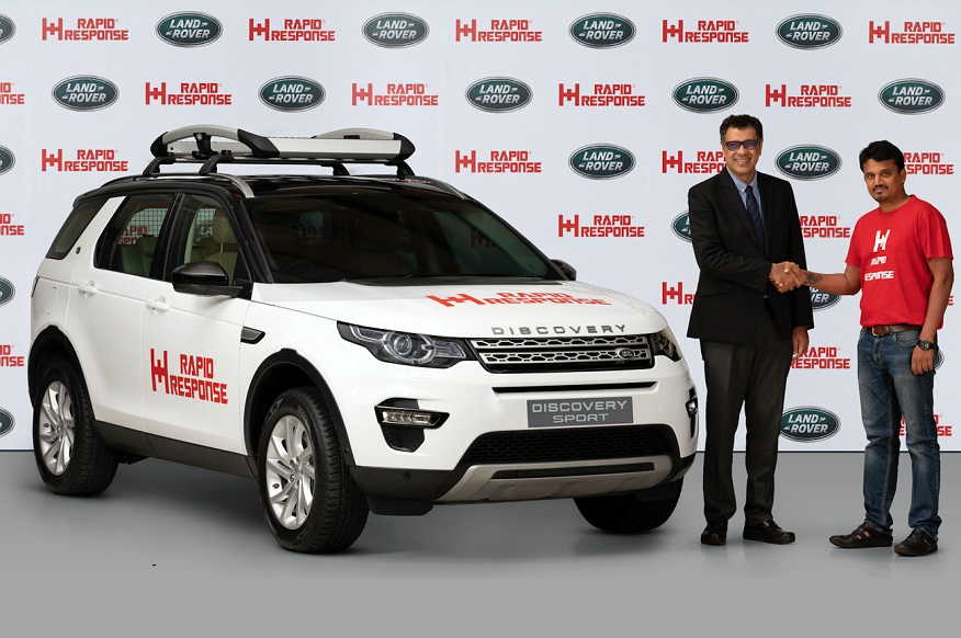 Land Rover India teams up with Rapid Response