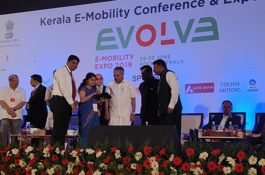 Kerala targets having 1 million EVs by 2022