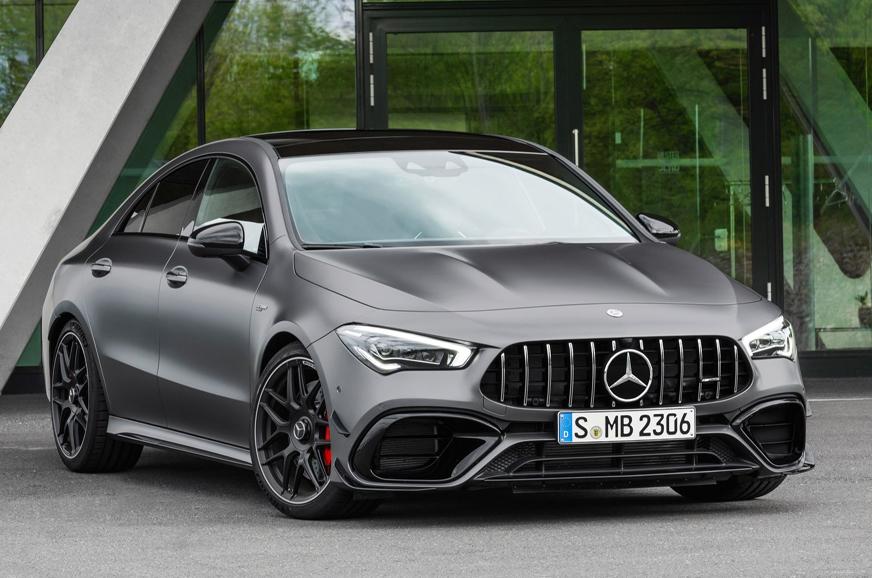 Mercedes-AMG CLA45 and CLA45 S 4Matic+ revealed