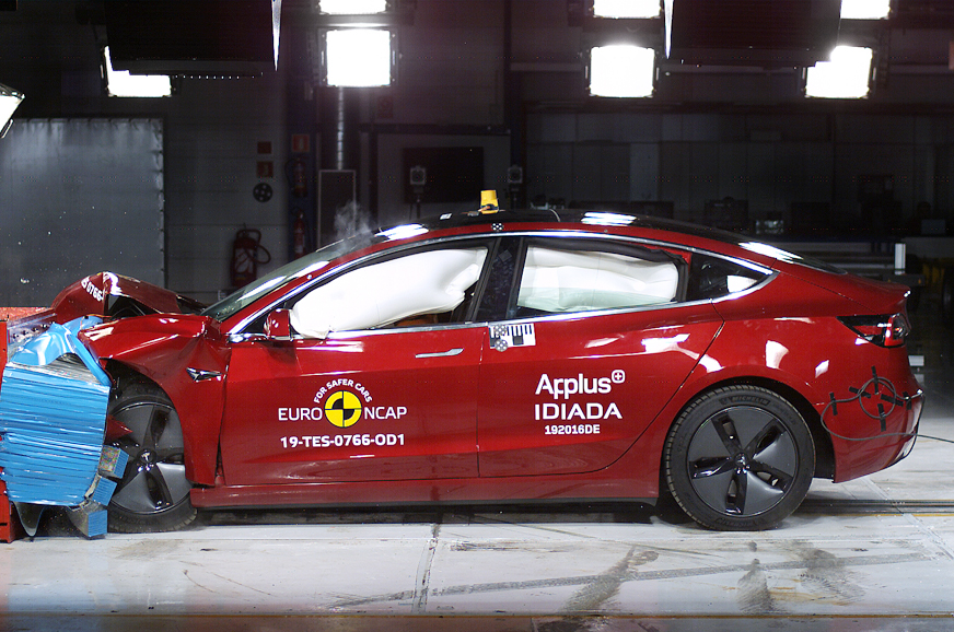 Tesla Model 3 scores 5-stars in latest Euro NCAP tests