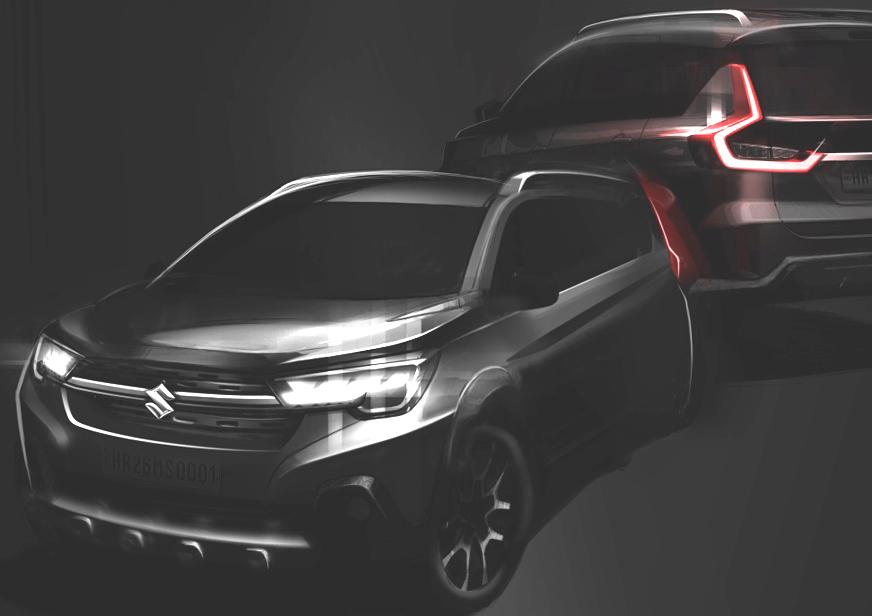 Dealerships That Buy Cars >> Maruti XL6 Nexa Ertiga teased ahead of August 21 India launch - Autocar India