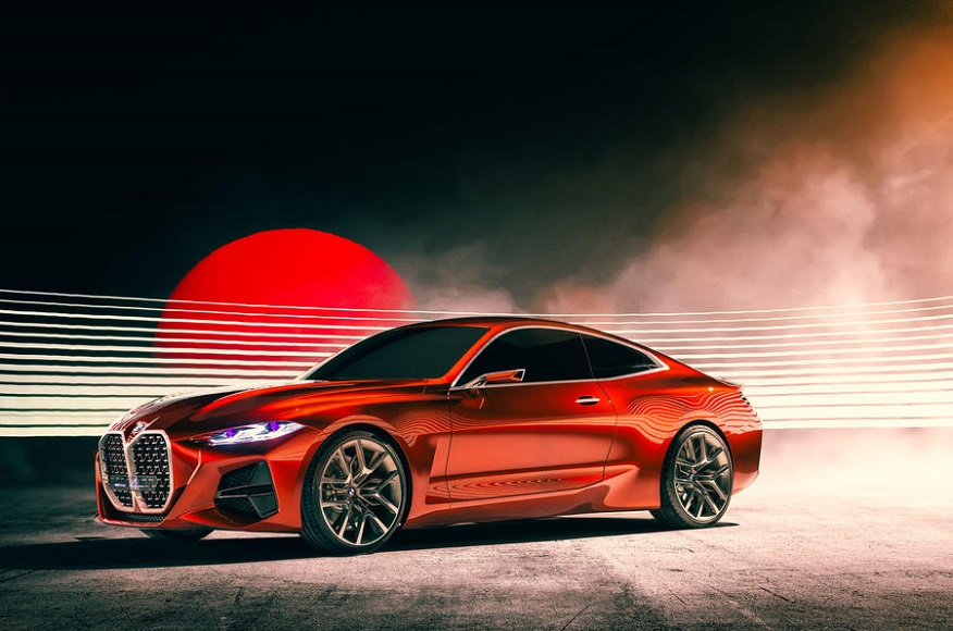 BMW Concept 4 Series Coupe debuts at Frankfurt motor show ...