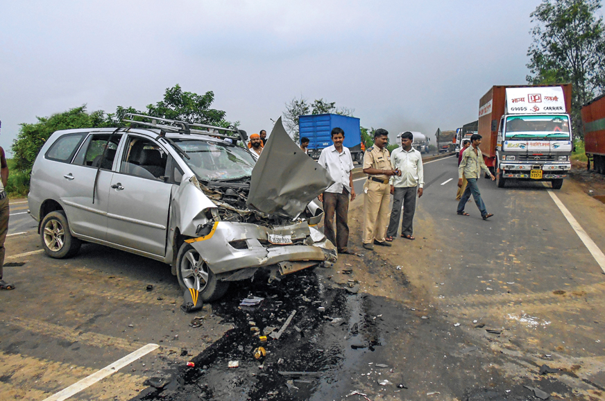 Report: 60 percent of accidents on the Mumbai-Pune Expressway were fatal