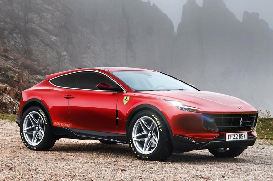 2022 Ferrari SUV details revealed - Autocar India