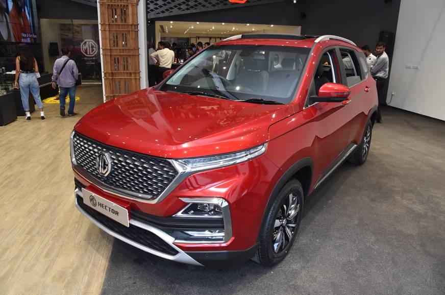 MG Motor India sells 3,536 Hector SUVs in October 2019