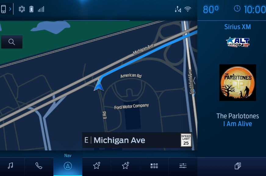 Ford's next-gen Sync 4 infotainment system previewed