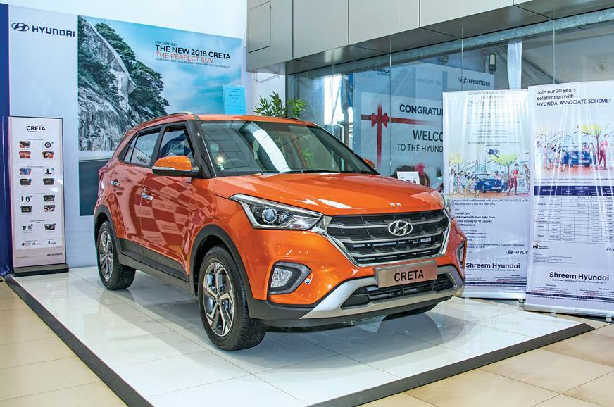 Hyundai Creta gets benefits of up to Rs 1 lakh
