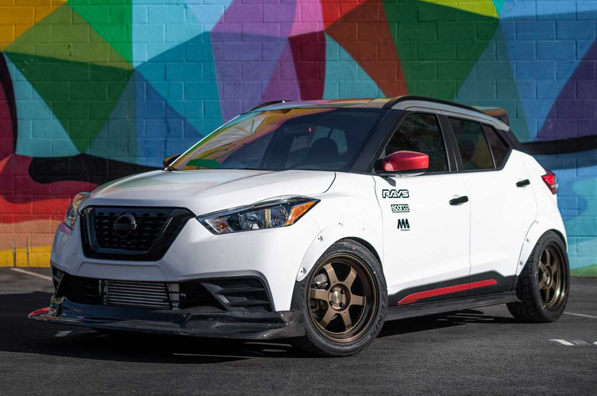Nissan Kicks Street Sport showcased at SEMA Show 2019
