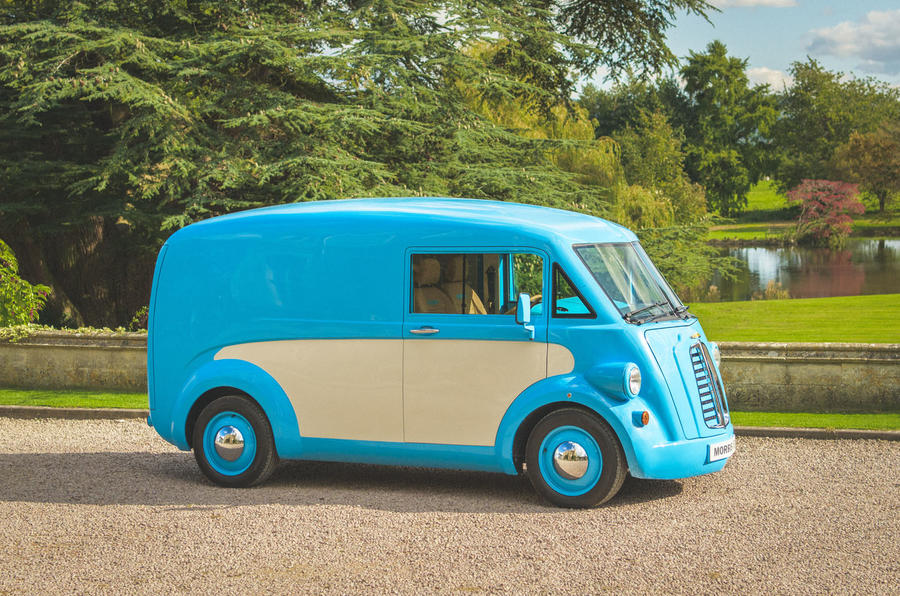 Morris Commercial JE electric van revealed