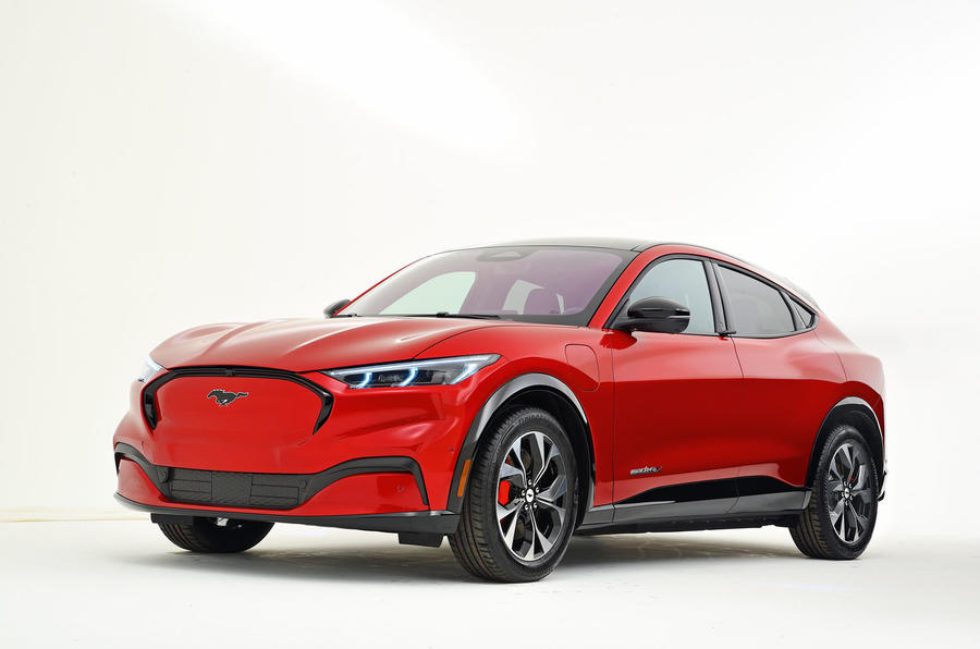 All-electric Ford Mustang Mach-E SUV revealed