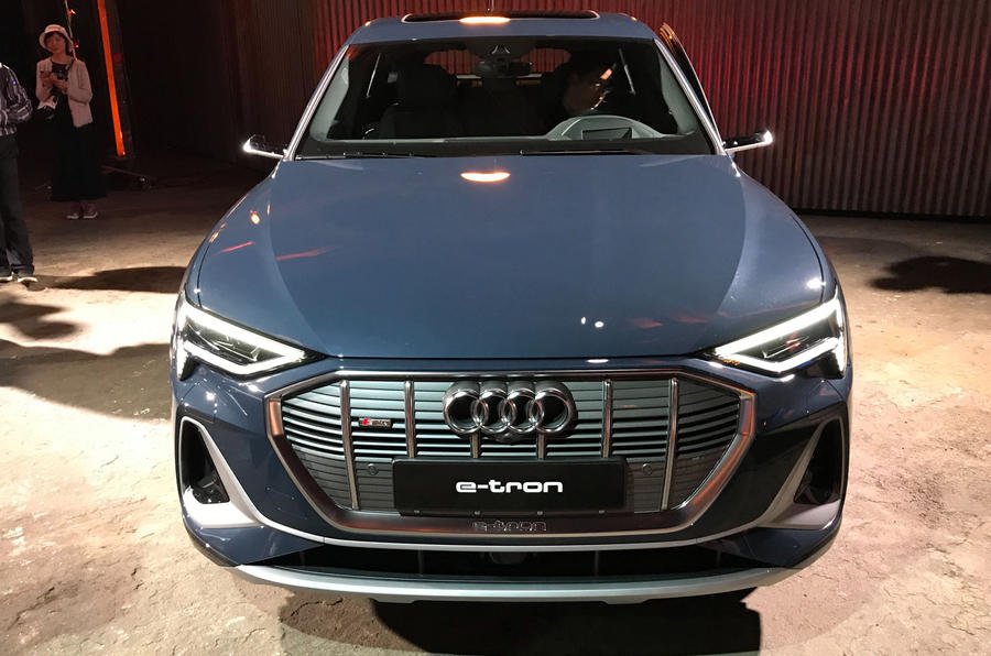 New Audi e-tron Sportback revealed