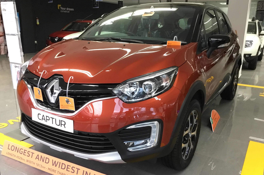 Renault Captur now gets over Rs 3 lakh in discounts