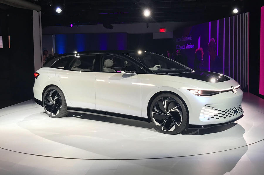 Volkswagen ID Space Vizzion concept revealed at 2019 LA motor show