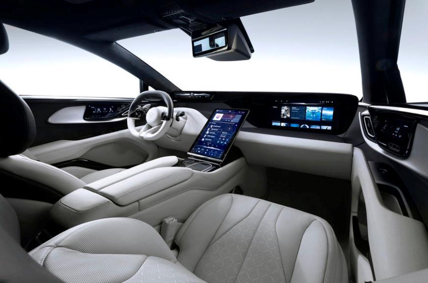 Faraday Future FF 91 EV concept interior revealed