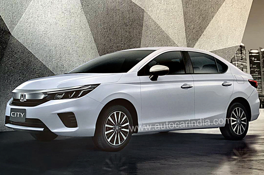 India-bound new Honda City revealed