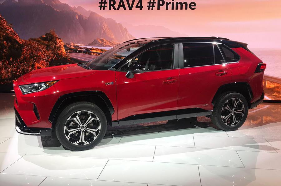 Toyota reveals new RAV4 Prime Plug-in Hybrid