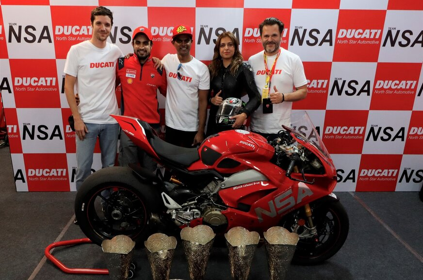Ducati wins the 2019 JK Tyre Indian National Racing Championship