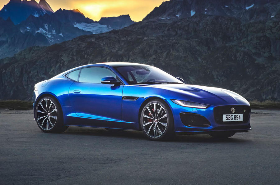 2020 Jaguar F-Type facelift revealed
