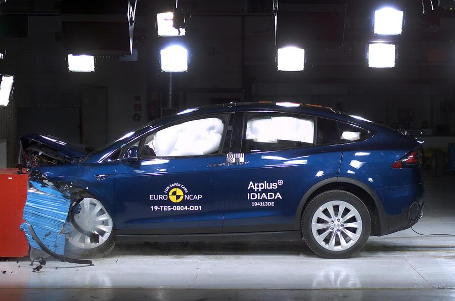 Tesla Model X awarded 5 stars in Euro NCAP crash tests