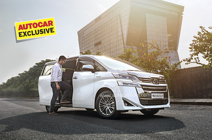 Toyota Vellfire review, test drive