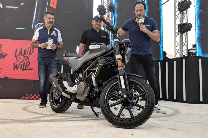 Husqvarna Svartpilen 250, Vitpilen 250 revealed at India Bike Week 2019
