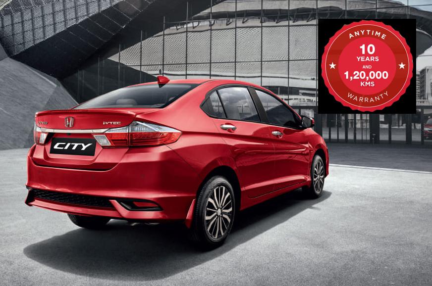Honda introduces 10 year/1,20,000km special warranty plan
