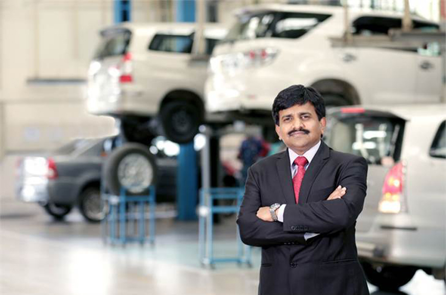 N Raja to be MD of Toyota Financial Services India