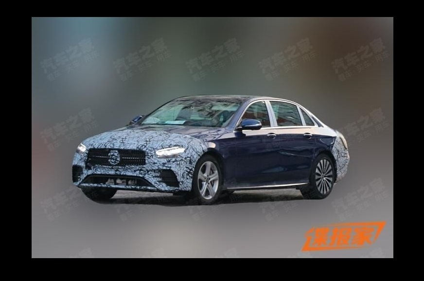 Mercedes-Benz E-class LWB facelift spied for the first time