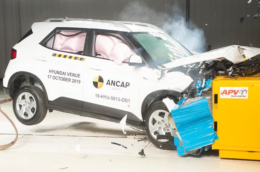 Hyundai Venue secures 4-star ANCAP rating