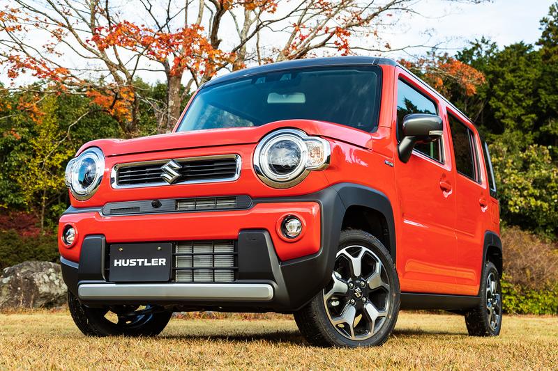 New Suzuki Hustler revealed