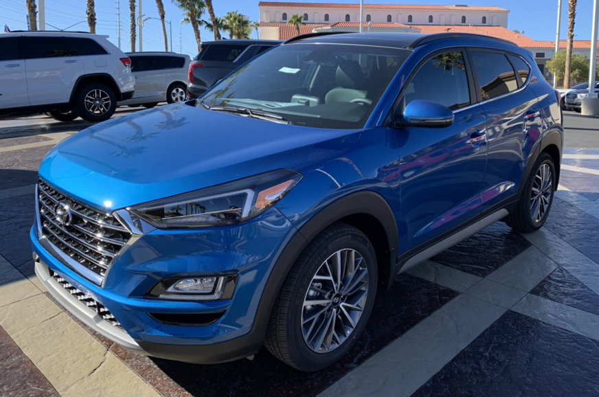 Hyundai Tucson facelift launch at Auto Expo 2020