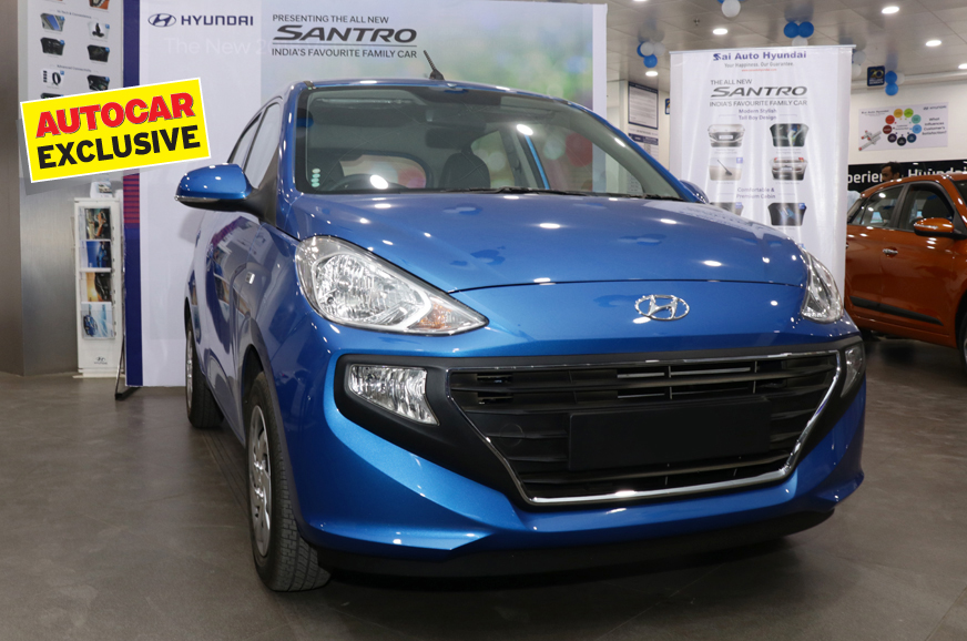 BS6 Hyundai Santro to be priced from Rs 4.57 lakh