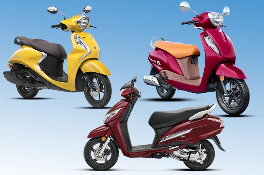 Suzuki Access 125 vs rivals: Specifications comparison
