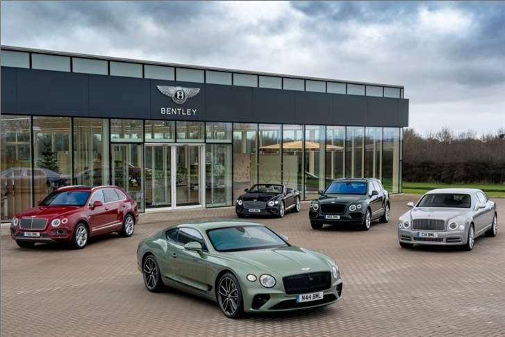 Bentley sales cross 10,000 units for seventh consecutive year