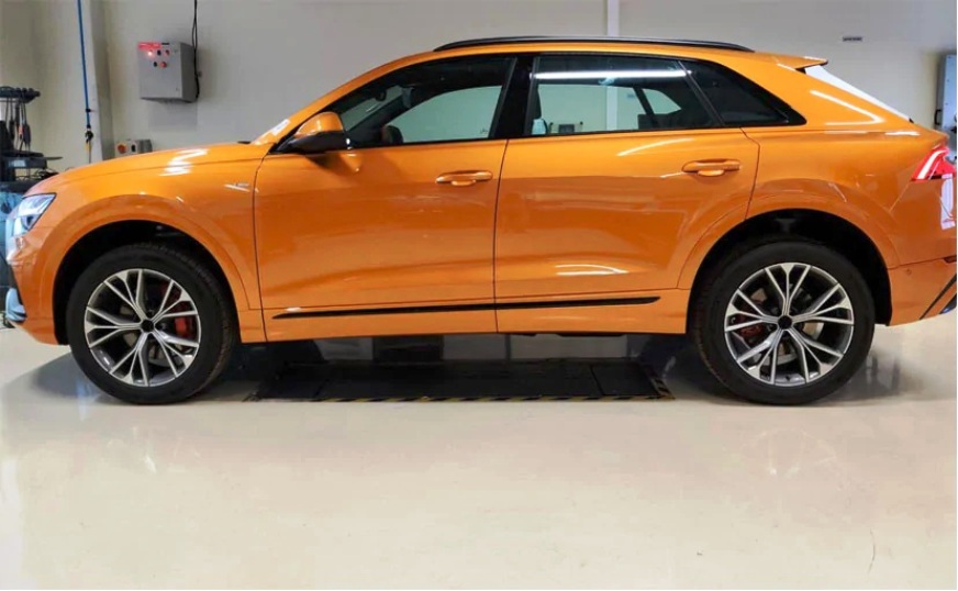 Audi Q8 ready for launch