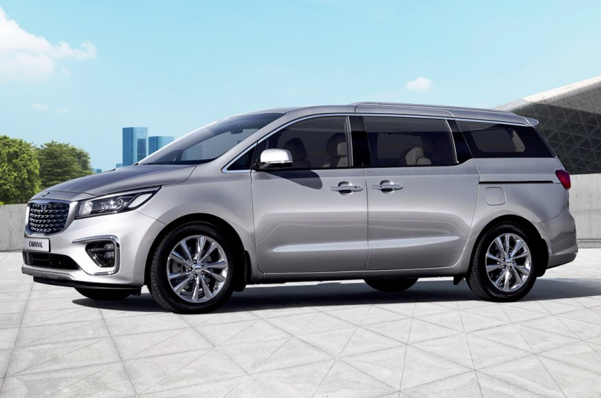 Kia Carnival to launch in four variants