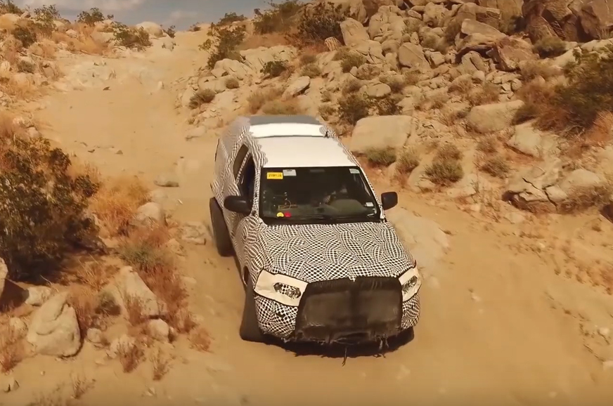 New Ford Bronco SUV teaser shows it's off-road-ready